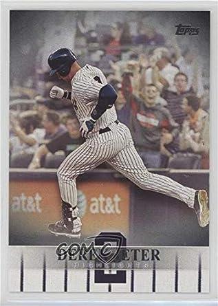 Amazoncom Derek Jeter Baseball Card 2018 Topps Target Derek
