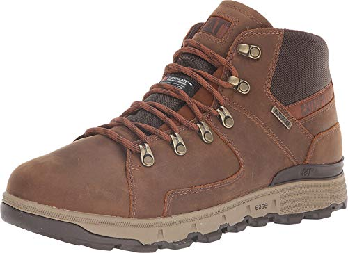 Caterpillar Casual Men's Stiction Hiker Ice + Waterproof TX Brown Sugar 10.5 D US D (M) ()