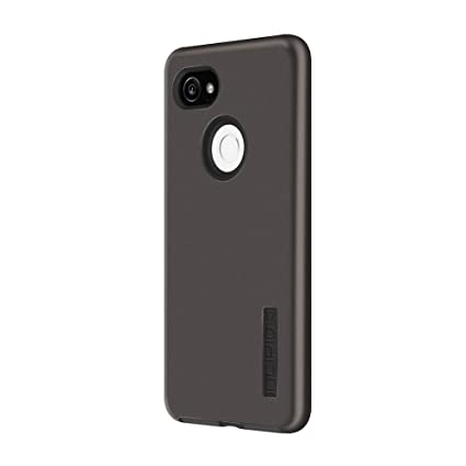 Incipio DualPro Google Pixel 2 XL Case with Shock-Absorbing Inner Core & Protective Outer Shell for Google Pixel 2 XL - Gunmetal