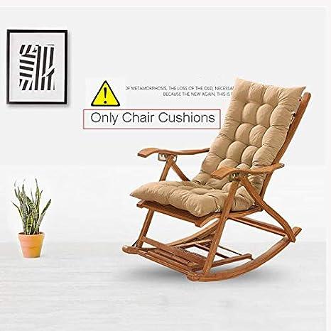 Amazon Com Sqinaa Jumbo Rocking Chair Cushions In Winter Backrest