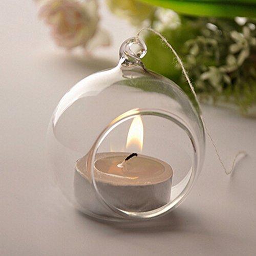 vase suspendu en verre transparent boule pour plantes fleurs d coration de jardin maison. Black Bedroom Furniture Sets. Home Design Ideas