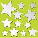 Brewster MA99228 Stars Peel and Stick Mirror Art