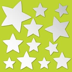 Wallpops - Espejos decorativos con forma de estrella