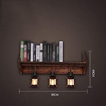 Bar Applique Zhyxz Et BoisHôtel Murale Lampes Décorative En bYfy76g