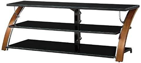 Whalen Furniture AVCEC65-TC Table Top Entertainment Stand, 65-Inch - Cherry Finished Tv Stand