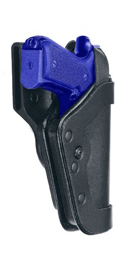 Uncle Mike's Mirage Plain Slimline Pro-3 Triple Retention Duty Holster (23, Right Hand)