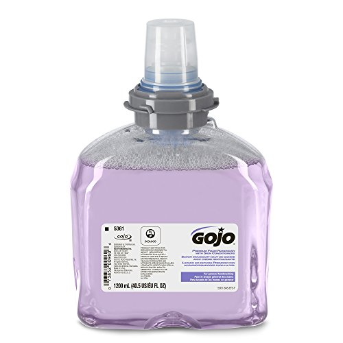 gojo-536102-tfx-luxury-foam-hand-wash-fresh-scent-dispenser-1200ml-2-carton