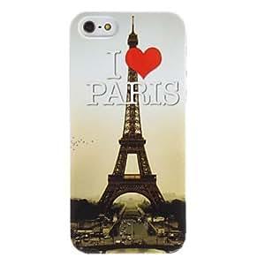 GJY I Love Paris Design Hard Case for iPhone 5/5S