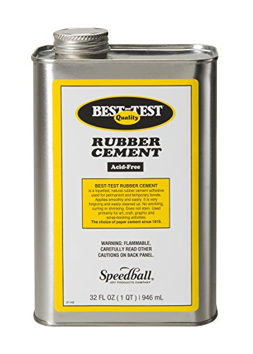 Best-Test Rubber Cement 32OZ - Best Test Cement Rubber