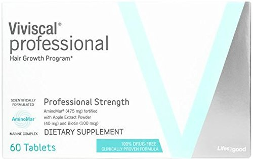 Viviscal - Professional Strength Hair Growth Supplement- 2 Pack (2 x 60 tablets)