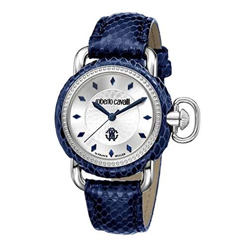 Roberto Cavalli RV1L017L0021 Reloj de Pulsera para Mujer