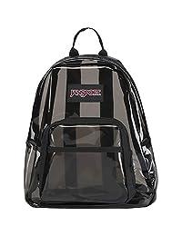 JanSport Half Pint FX Mini Mochila, Negro translúcido, Una talla