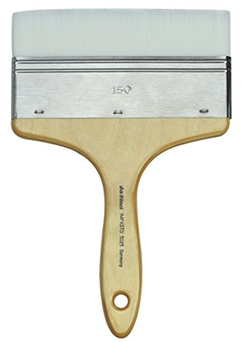 da Vinci Oil & Acrylic Series 5025 Impasto Paint Brush, Mottler Extra Stiff White Synthetic, Size 150 by da Vinci Brushes