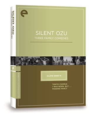 Eclipse Series 10: Silent Ozu - Three Family Comedies (Tokyo Chorus / I Was Born But... / Passing Fancy) (The Criterion Collection)