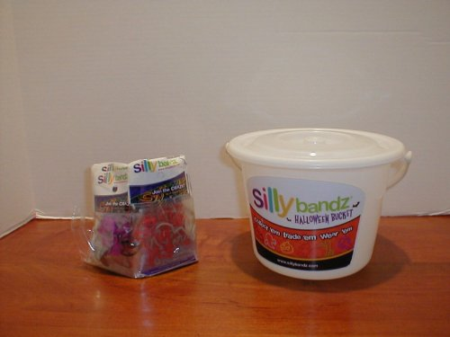 Silly Bandz Halloween Bucket with 50 Packs of 2 Silly (Spongebob Halloween Games Online)