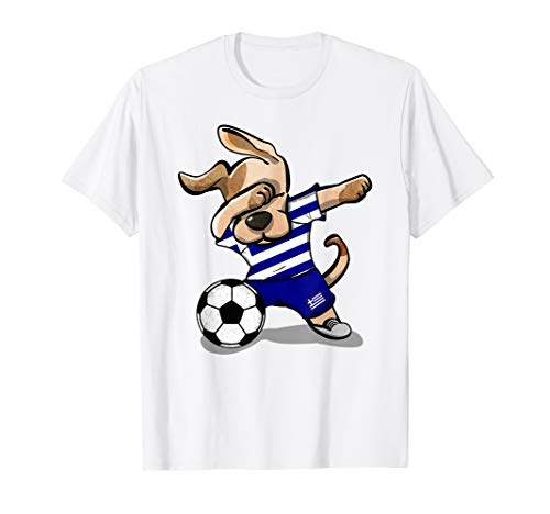 Dog Dabbing Soccer Greece Jersey Shirt Greek Football 2019