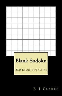 blank sudoku 500 blank 9x9 grids amazon co uk r j clarke
