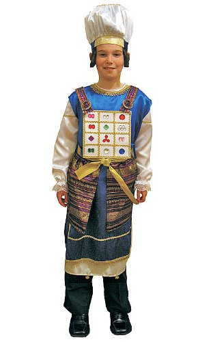 [Adult Kohen Gadol- Large] (Priest Halloween Costumes)
