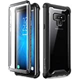 Samsung Galaxy Note 9 Case, i-Blason [Ares Series] Full-Body Rugged Clear Bumper Case with Built-in Screen Protector for Samsung Galaxy Note 9 2018 Release (Black)