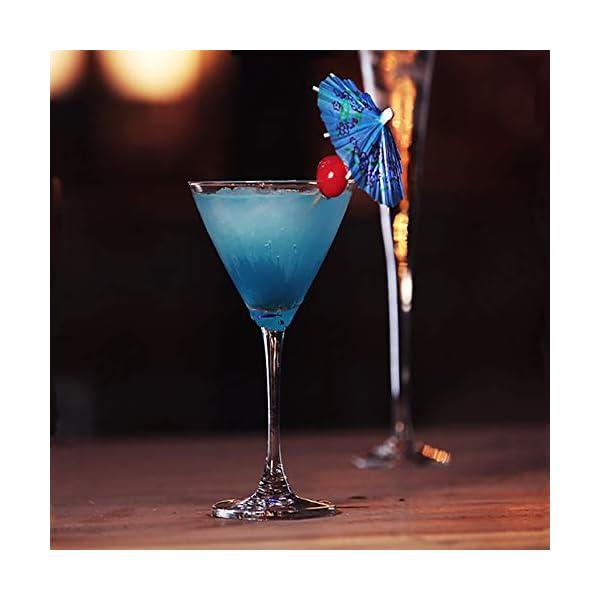 Siumir Ombrelli da Cocktail Mini Cocktail Parasols Accessori Decorazione di Bevande e Frutta 144 pcs 5 spesavip