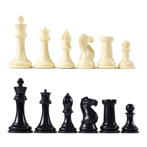 - Premier Tournament Chess Pieces with 4 1/8