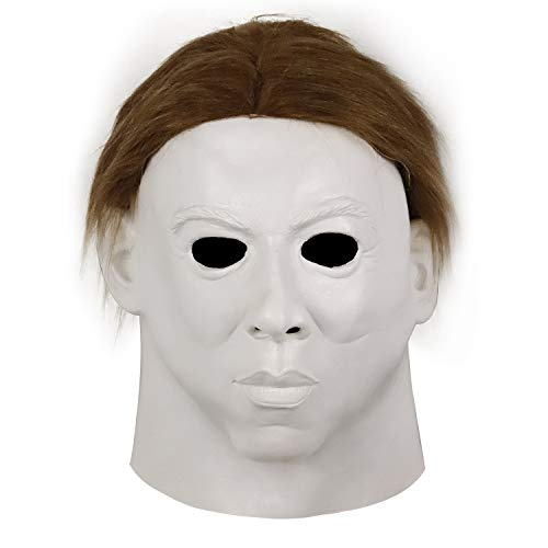 (Latex Halloween Mask Horror Michael Myers Cosplay)