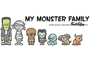 My Monster Family - Family Car Stickers