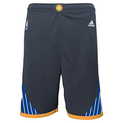 NBA Golden State Warriors Youth Boys 8-20 Replica Alternate Shorts, X-Large (18/20), Carbon