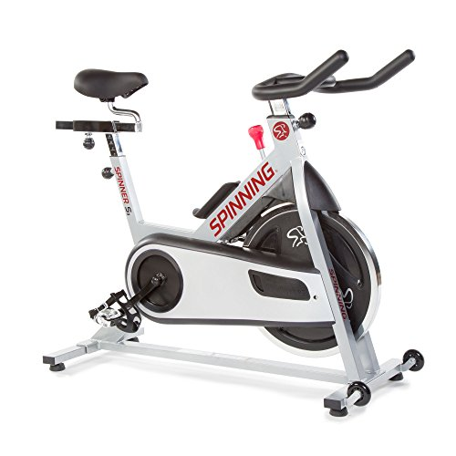 Spinner S3 Indoor Cycling Bike with Four Spinning DVDs, Silver Mad Dogg Athletics Inc.