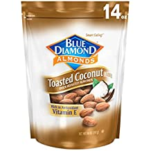 Blue Diamond Almonds, Toasted Coconut, 14 Ounce