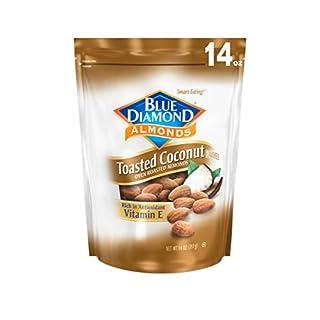 Blue Diamond Gluten Free Almonds, Toasted Coconut, 14 Ounce