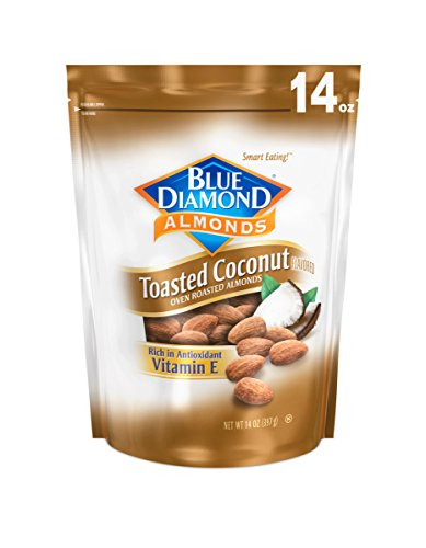 Blue Diamond Almond Growers (Blue Diamond Almonds, Toasted Coconut, 14 Ounce)