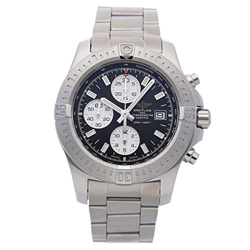 Breitling Chronomat Colt Chronograph Stainless Steel Auto 44mm Mens Watch Bracelet A1338811/BD83 (Certified Pre-Owned) (Gents Tachymeter Watch Chronograph)