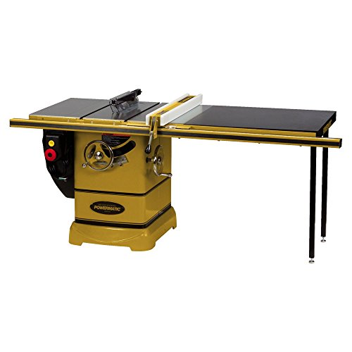 Powermatic 1792000K Model PM 2000 3 Horsepower Cabinet Saw with 50-Inch Accu-Fence, 2 Cast Iron...
