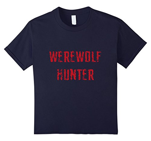 [Kids Werewolf hunter halloween costume 4 Navy] (4 Person Halloween Costumes Ideas)