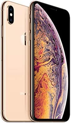 Apple iPhone Xs Max, Fully Unlocked, 512 GB - Gold (Renewed)