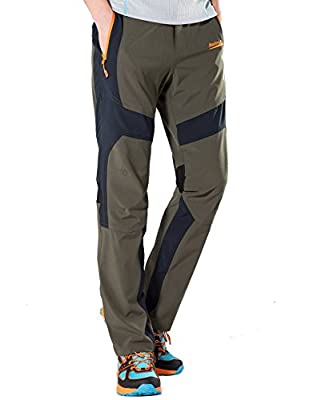 Men's Convertible Quick Dry Pants/Shorts for Hiking by Makino