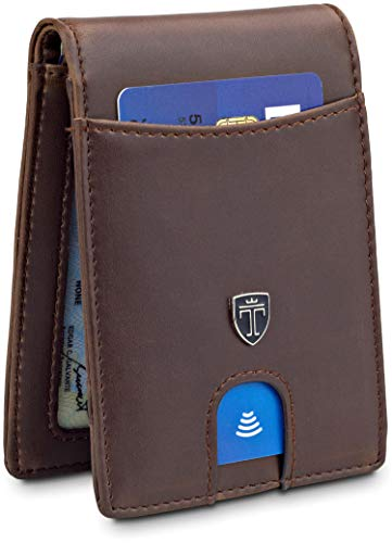 (TRAVANDO Slim Wallet for Men