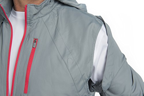 SCOTTeVEST Tropiformer Jacket - 22 Pockets – Convertible, Travel Clothing RED L by SCOTTeVEST (Image #5)