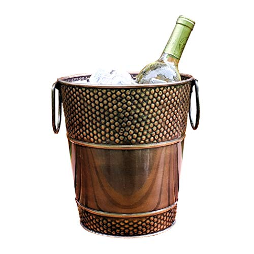 BREKX Berkshire Copper Finish Wine Bucket