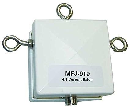 MFJ Enterprises Original MFJ-919 Balun 4:1, 160-10M, 1500 Watt