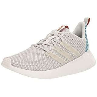 adidas Women's Questar Flow Track and Field Shoe, Cloud White/raw White/Active Teal, 6.5 Standard US Width US