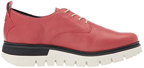Caterpillar Womens Windup In Pelle Lace Up Moda Oxford Rosso