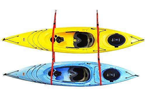 Malone Auto Racks SlingTwo Double Kayak Storage ()