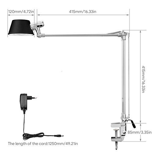 TactileÀ 12vArticulée Ever Lighting De Le Bureau Controle RéglablePince Lampe LedArchitecte 6w F3uJTlK1c
