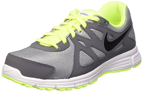 Grey Shoes Children Running Gris Grey GS Black NIKE 2 Wolf dark blk Revolution Black qw7SxRZ