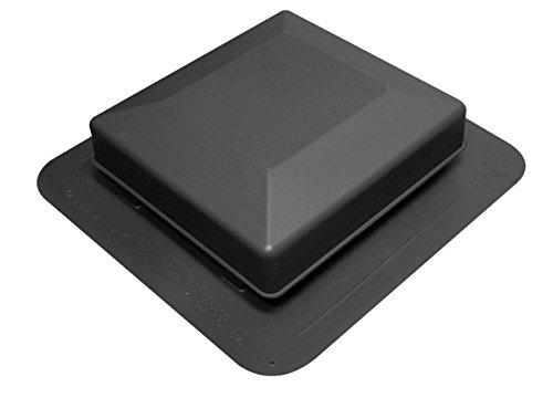 Duraflo 6075BL Roof Vent, 75 Square Inch, Black ()