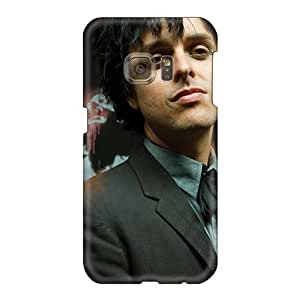 Samsung Galaxy S6 UKp1530xAvm Support Personal Customs Realistic Green Day Band Pictures Best Cell-phone Hard Cover -ChristopherWalsh