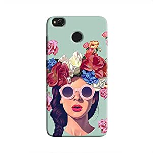 Cover It Up Flower Head Hard Case For Xiaomi Redmi 4 - Multi Color