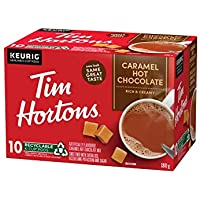 Tim Hortons Caramel Hot Chocolate K Cups, Caramel, 10 Count